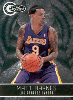 2010-11 Totally Certified #74 Matt Barnes