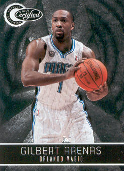 2010-11 Totally Certified #77 Gilbert Arenas