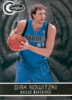 2010-11 Totally Certified #80 Dirk Nowitzki