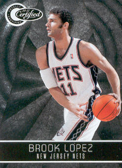 2010-11 Totally Certified #87 Brook Lopez