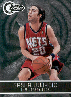 2010-11 Totally Certified #89 Sasha Vujacic