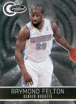 2010-11 Totally Certified #92 Raymond Felton
