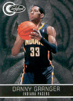 2010-11 Totally Certified #96 Danny Granger