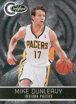2010-11 Totally Certified #98 Mike Dunleavy