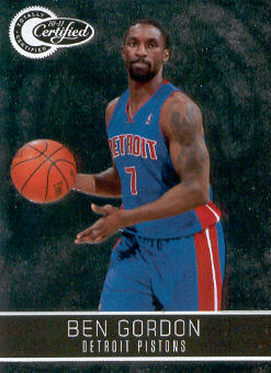 2010-11 Totally Certified #101 Ben Gordon