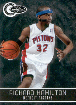 2010-11 Totally Certified #102 Richard Hamilton