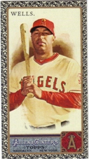 2011 Topps Allen and Ginter Mini Black #141 Vernon Wells