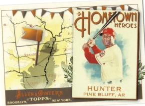 2011 Topps Allen and Ginter Hometown Heroes #HH26 Torii Hunter