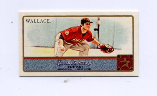 2011 Topps Allen and Ginter Mini Bazooka #318 Brett Wallace