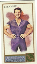 2011 Topps Allen and Ginter Mini A and G Back #225 Jack LaLanne