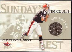 2001 Ultra Sunday's Best Jersey Tim Couch