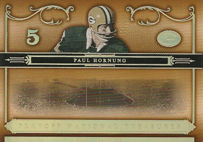 2006 Playoff National Treasures Gold #26 Paul Hornung