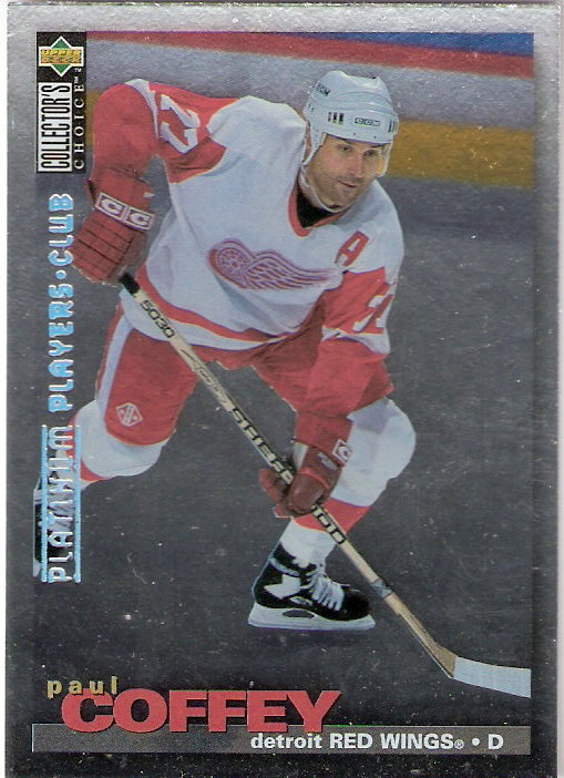 1995-96 Collector's Choice Player's Club Platinum #18 Paul Coffey