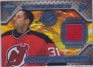 2000-01 Titanium Game Gear #107 Chris Terreri