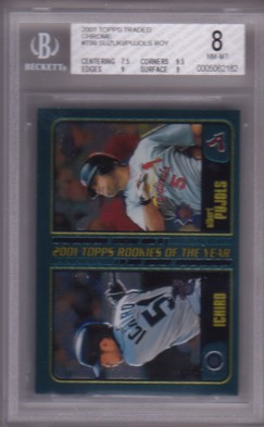 2001 Topps Chrome Traded #T99 I.Suzuki/A.Pujols ROY