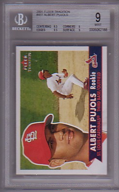 2001 Fleer Tradition #451 Albert Pujols RC