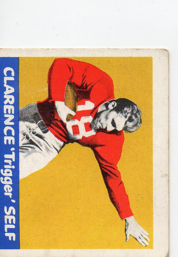 1948 Leaf #78 Clarence Self RC