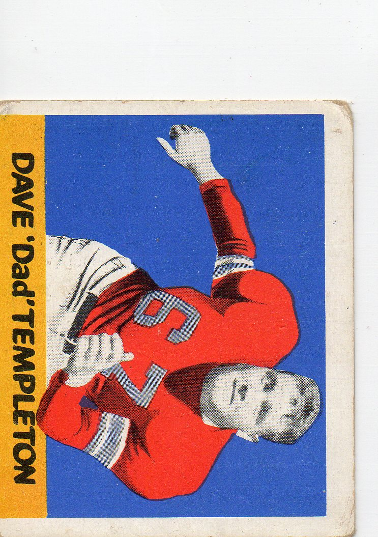 1948 Leaf #87 Dave Templeton RC