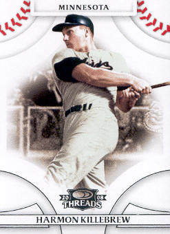 2008 Donruss Threads #30 Harmon Killebrew