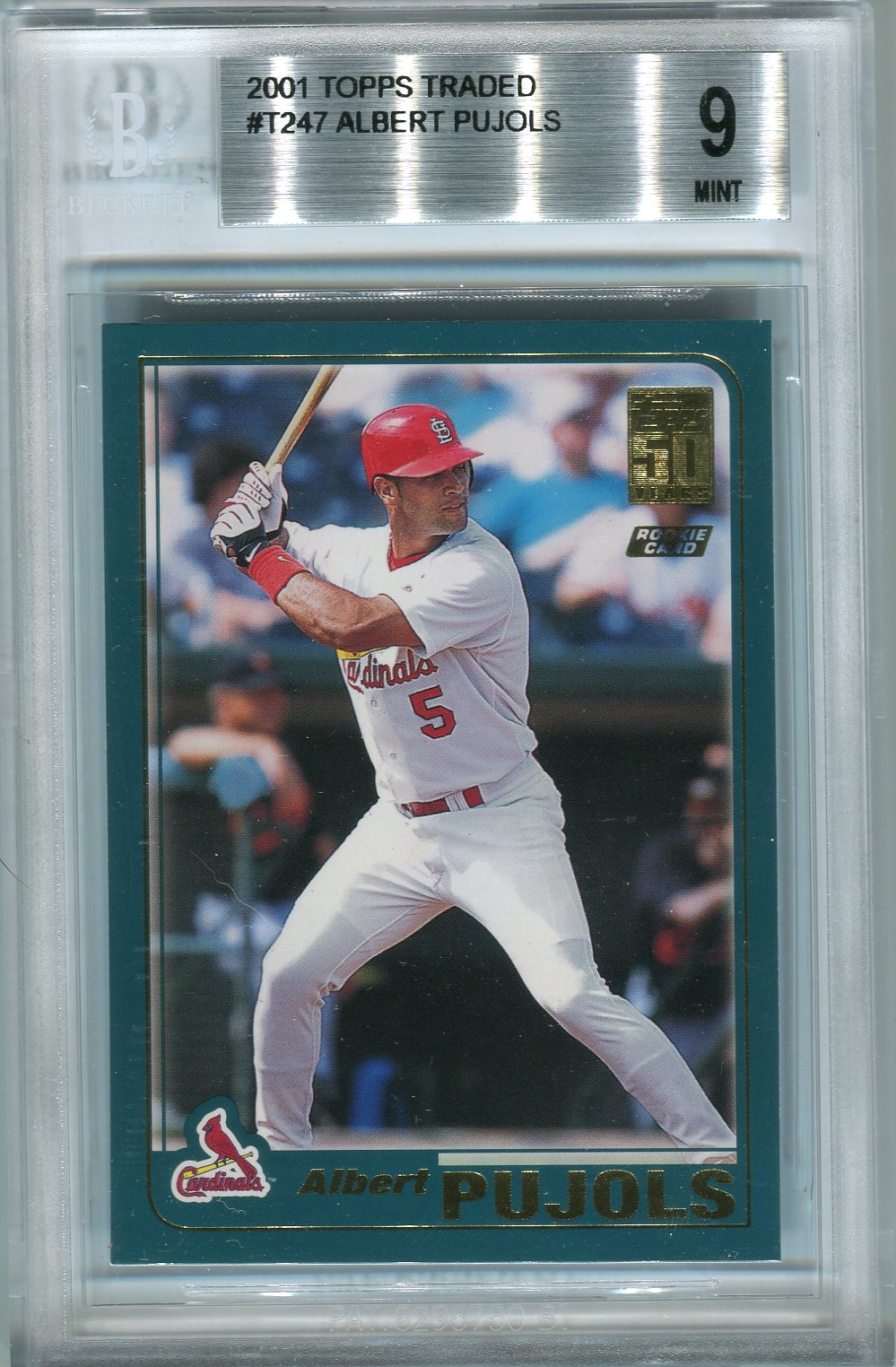 2001 Topps Traded #T247 Albert Pujols RC