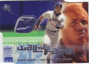 2001 E-X Wall of Fame #2 Barry Bonds