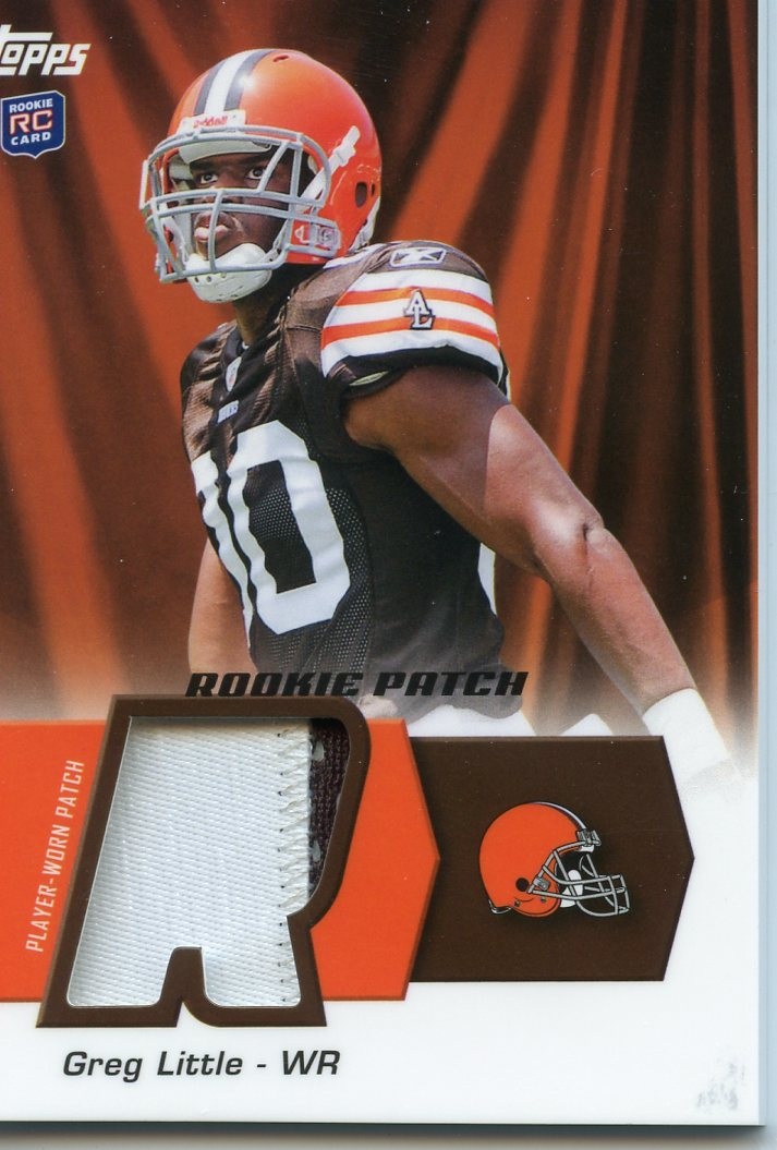 2011 Topps Rookie Patch #HRPAG A.J. Green