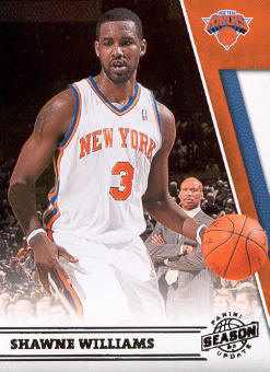 2010-11 Panini Season Update #18 Shawne Williams