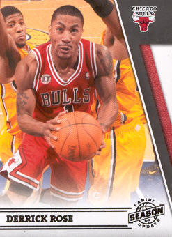 2010-11 Panini Season Update #34 Derrick Rose