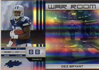 2010 Absolute Memorabilia War Room Spectrum #19 Dez Bryant