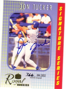 2000 Royal Rookies Autographs #32 Jon Tucker