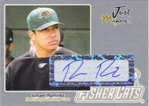 2005 Just Autographs Signatures Silver #53 Ismael Ramirez