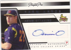2006 TRISTAR Prospects Plus Farm Hands Autographs #34 Adam Ottavino