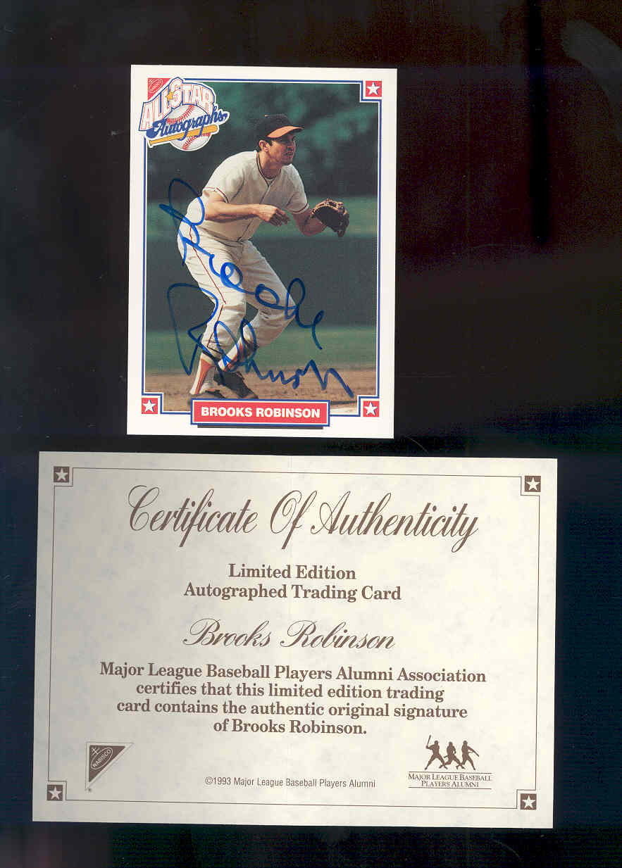 1993 Nabisco All-Star Autographs #5 Brooks Robinson