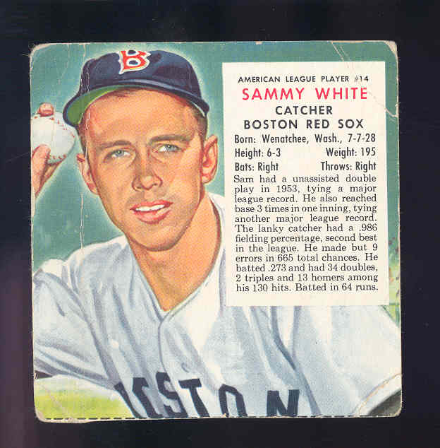 1954 Red Man #AL14 Sammy White