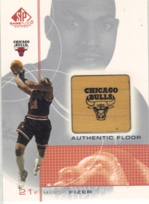 2000-01 SP Game Floor Authentic Floor #FI Marcus Fizer