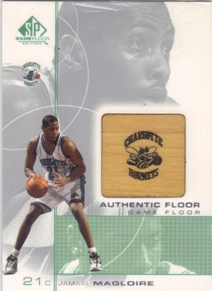 2000-01 SP Game Floor Authentic Floor #JM Jamaal Magloire
