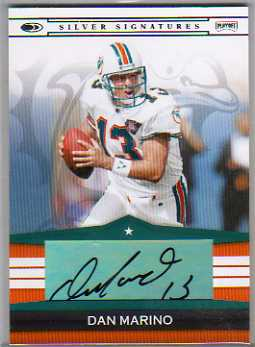 2008 Donruss Playoff Silver Signatures #DM Dan Marino/64*