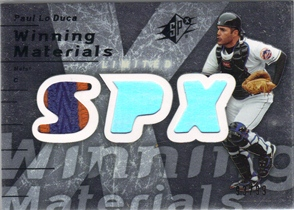 2007 SPx Winning Materials Patches Silver #PL Paul LoDuca/99