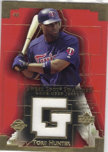 2003 Sweet Spot Swatches #TH Torii Hunter