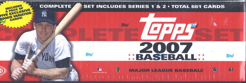2007 Topps Factory Sealed Hobby Baseball Complete Set