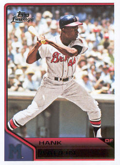 2011 Topps Lineage #108 Hank Aaron