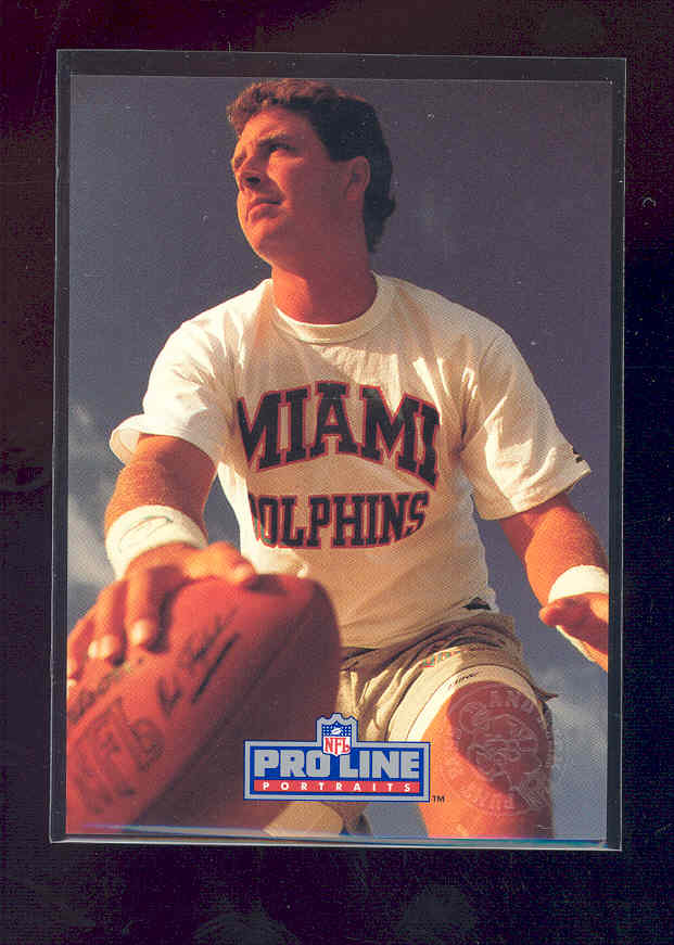 1991 Pro Line Punt, Pass and Kick #PPK9 Dan Marino