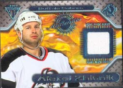 2000-01 Pacific Private Stock Titanium Game Gear Jersey #63, Alexei Zhitnik