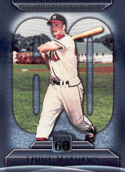 2011 Topps 60 #72 Eddie Mathews