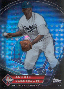 2011 Topps Prime 9 Player of the Week Refractors #PNR3 Jackie Robinson