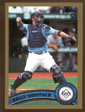 2011 Topps Gold #514 Kelly Shoppach