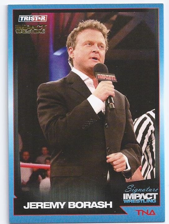 2011 TRISTAR TNA Signature Impact Gold #53 Jeremy Borash