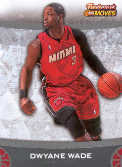 2007-08 Topps Trademark Moves #3 Dwyane Wade