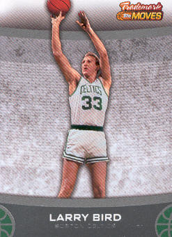 2007-08 Topps Trademark Moves #45 Larry Bird