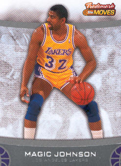 2007-08 Topps Trademark Moves #47 Magic Johnson